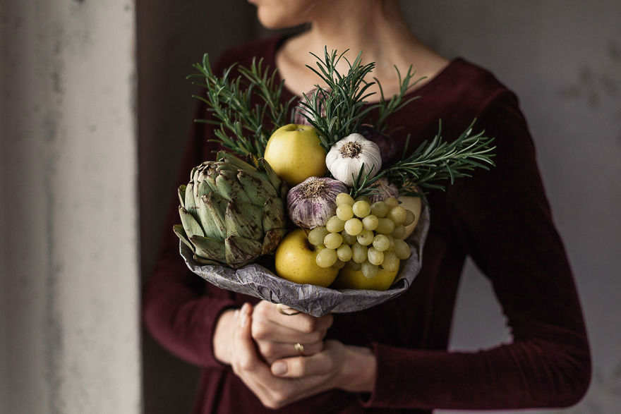 Karolina Creates Stunning and Unique Bouquets You Can Actually Eat