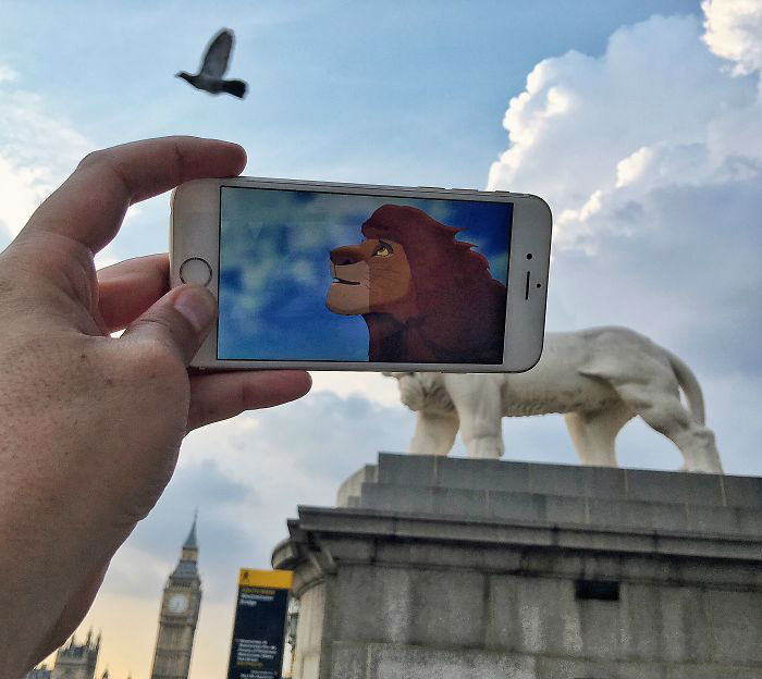 Guy Combines Everyday Objects with Images From His Phone and Its Hilarious