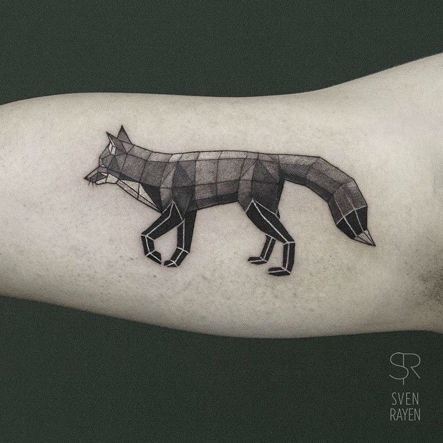3D Animal Tattoos by Sven Rayen