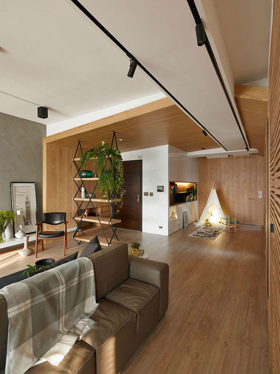 Explorer – Apartment Designed in 2016 by Awork Design Studio