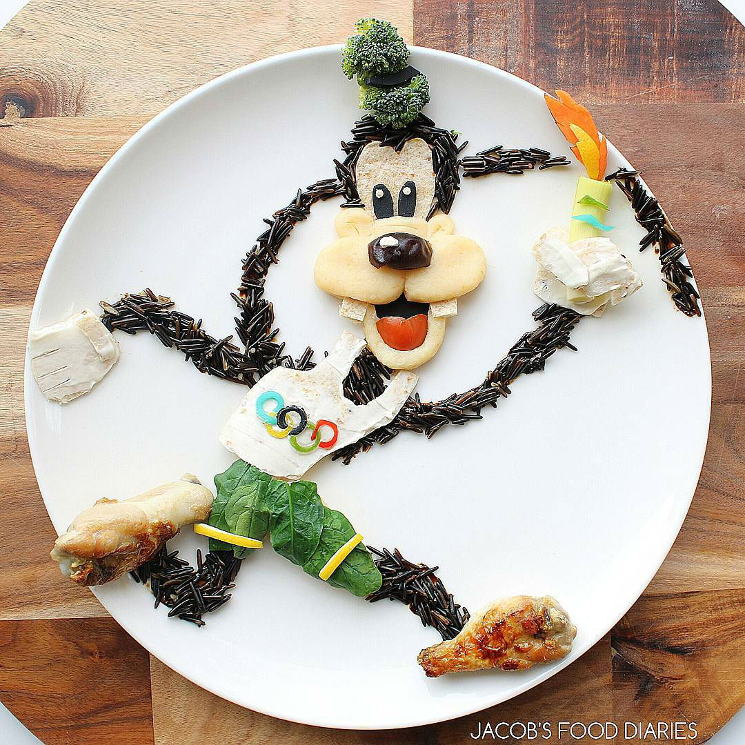 Talented Mom Creates Amazingly Accurate Cartoon Characters Out of Food