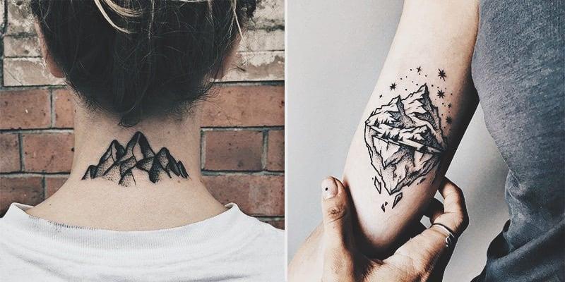 Mountain Tattoo Design: 30 Epic Mountain Tattoo Ideas