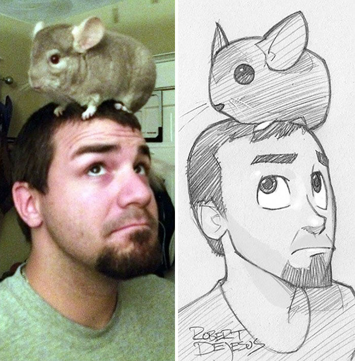 Robert DeJesus Transforms Real People Into Stunning Cartoon and Anime Characters
