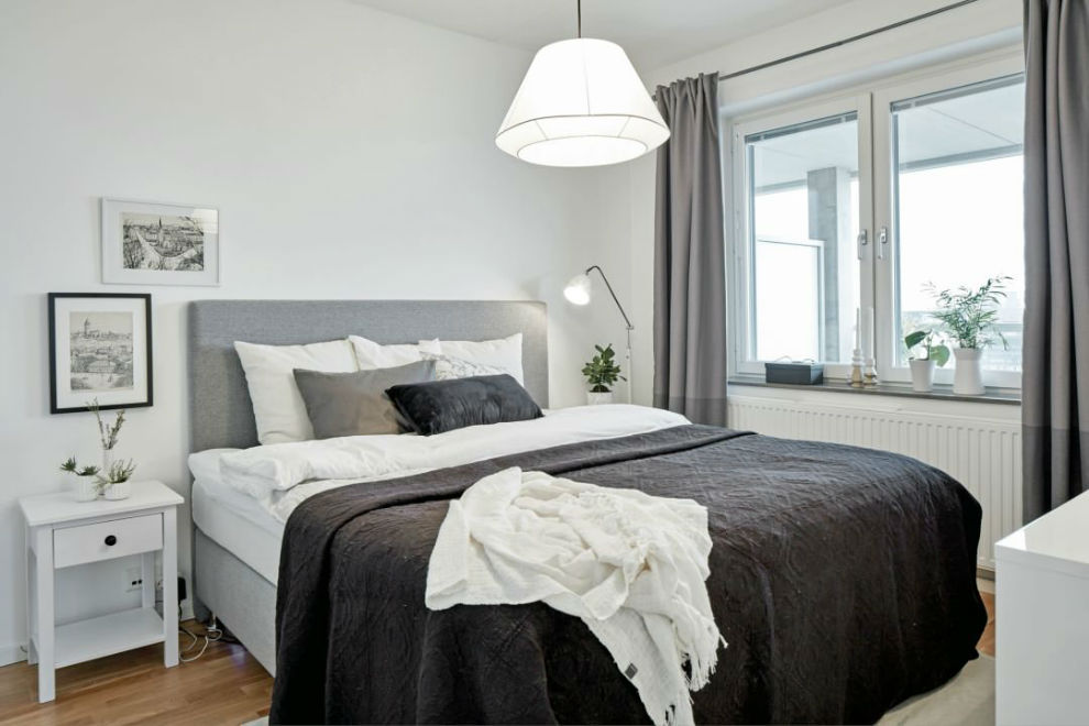 23 Soothing Scandinavian Bedroom Designs