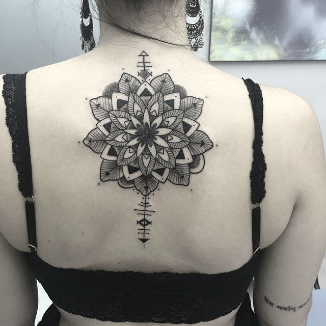 Symbolic and Flower Tattoos by Bob Queiroz