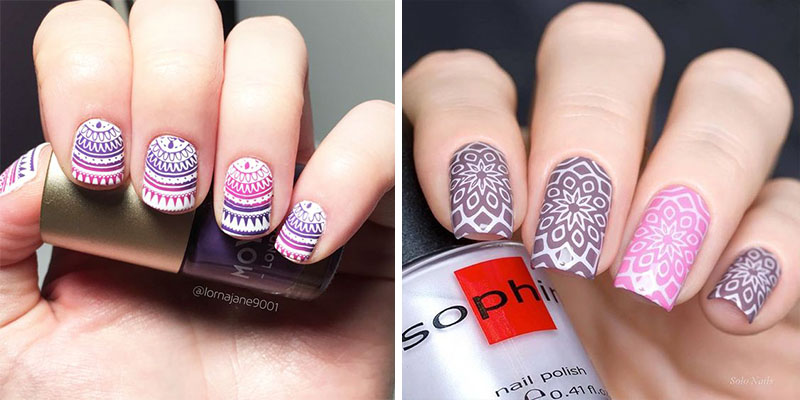 26 Mystical Mandala Nail Art Designs
