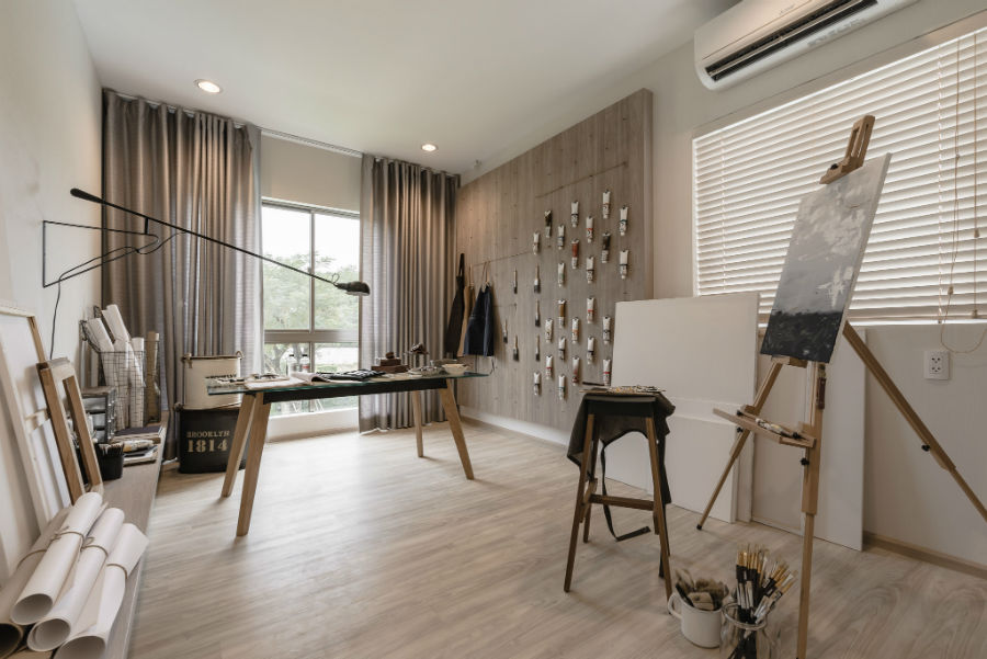 Beautiful Wood Dominant Detached House Interior in Thailand