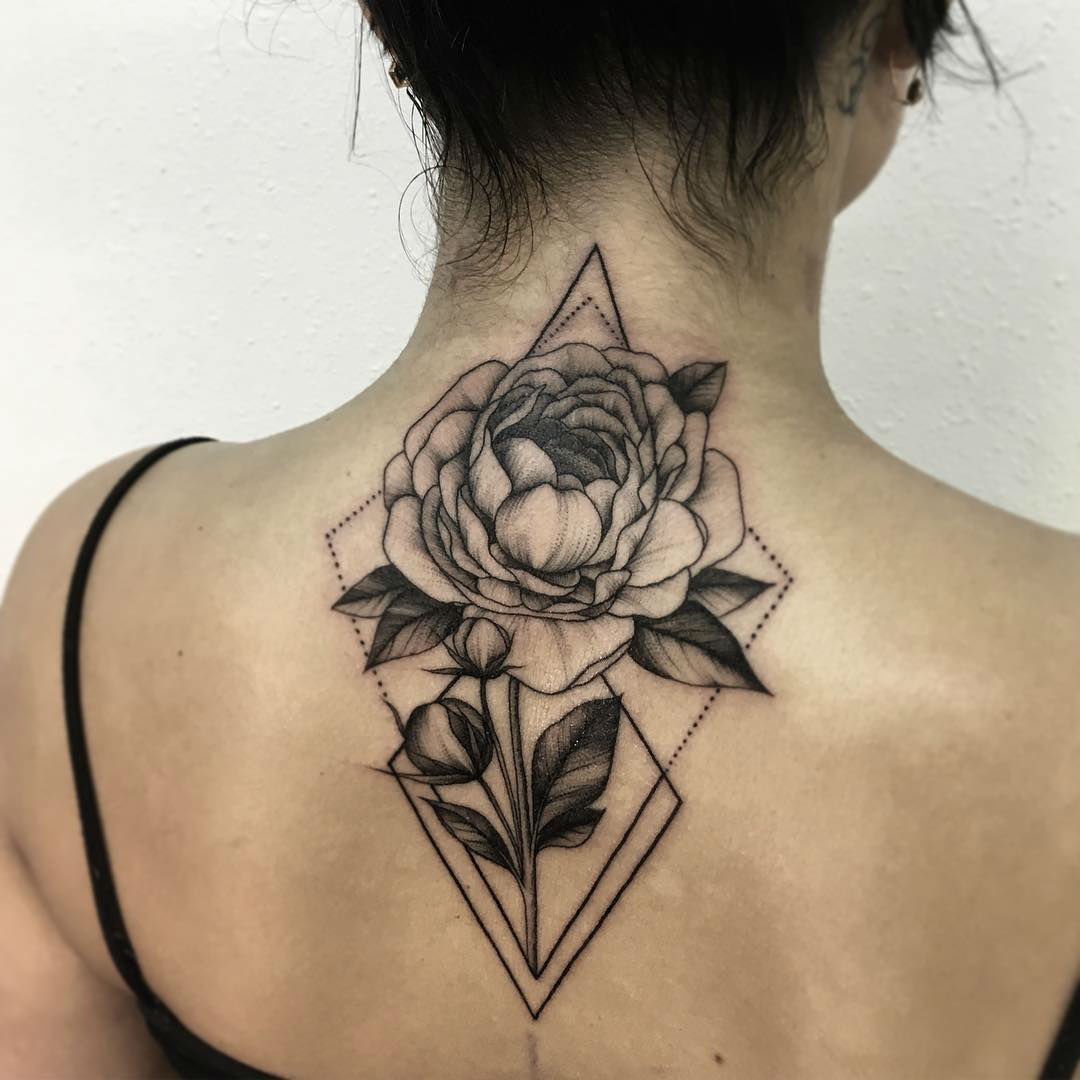 Strong and Beautiful Tattoo Blooms by Shevchenko
