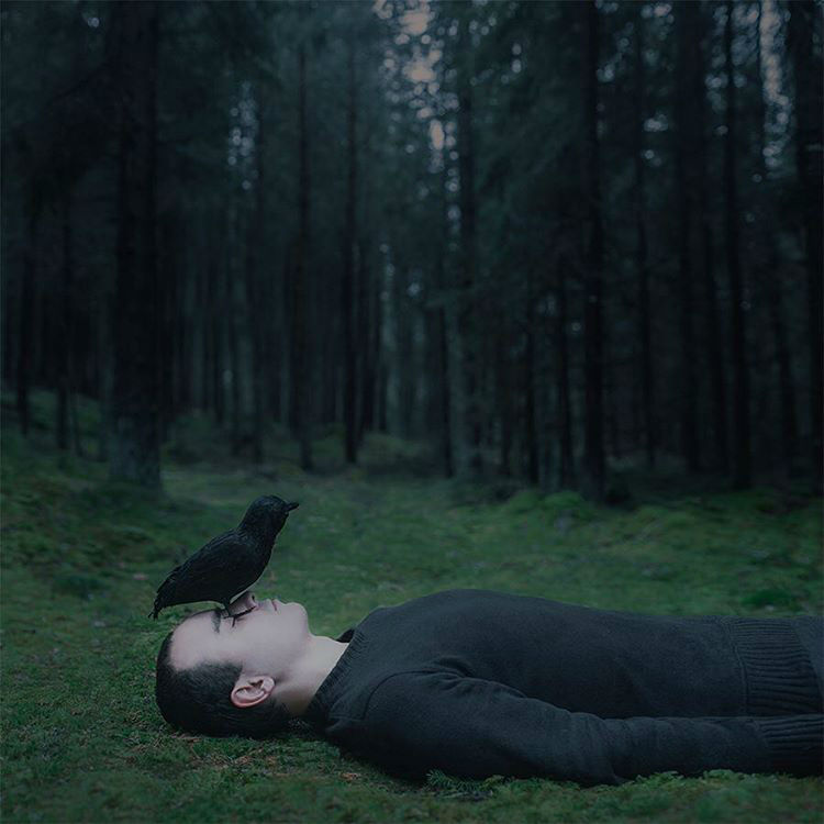 Gifted Photographer Captured his Depression in a Dark and Stunning Fashion
