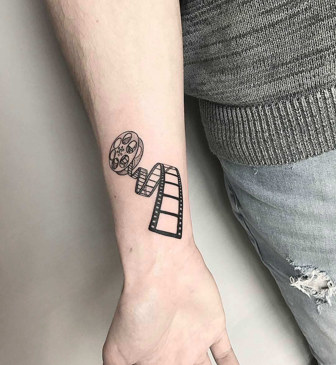 20 Fine Blackwork Tattoos by Michele Volpi