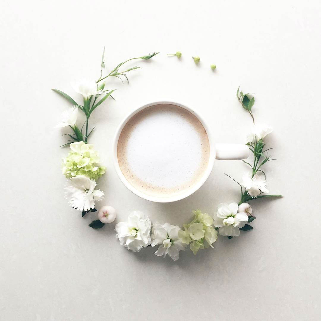 Diary Out of Flowers and Coffee by La Fee De Fleur