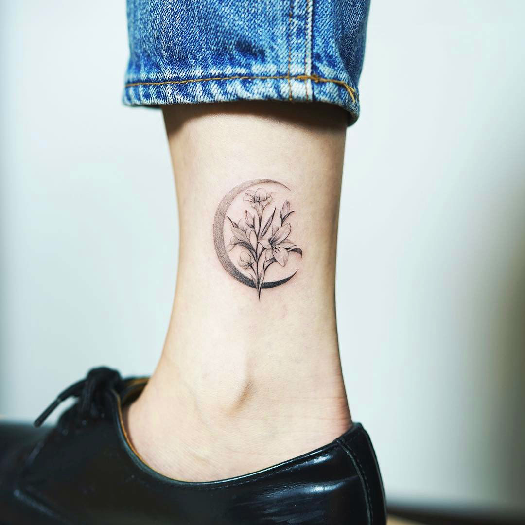 Image result for lily tattoo