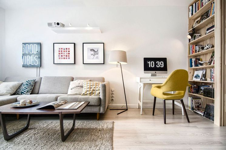 Couples Apartment   Scandinavian Design
