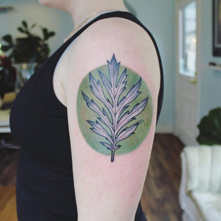 Spiritually Enlightened Watercolor Tattoos by Emily Kaul