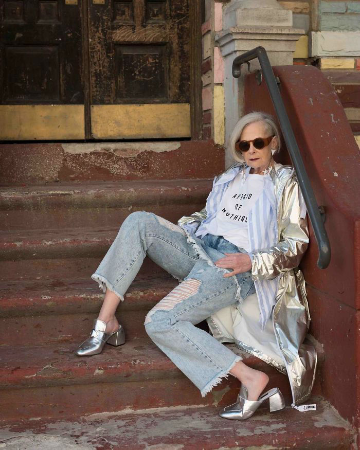 Journalists Accidentally Mistake 63 Year Old Professor for Fashion Icon and It Changes Her Life Forever