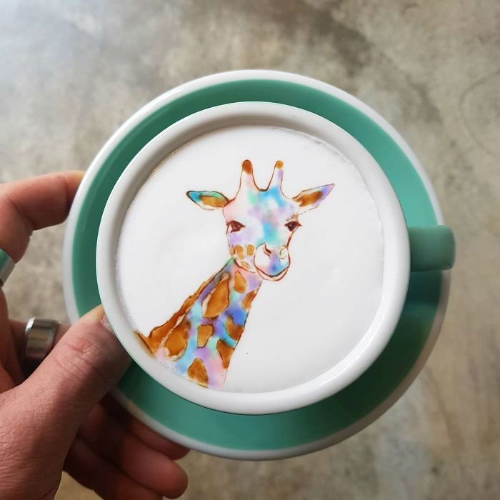 Latte Art By Amazing Barista From Korea