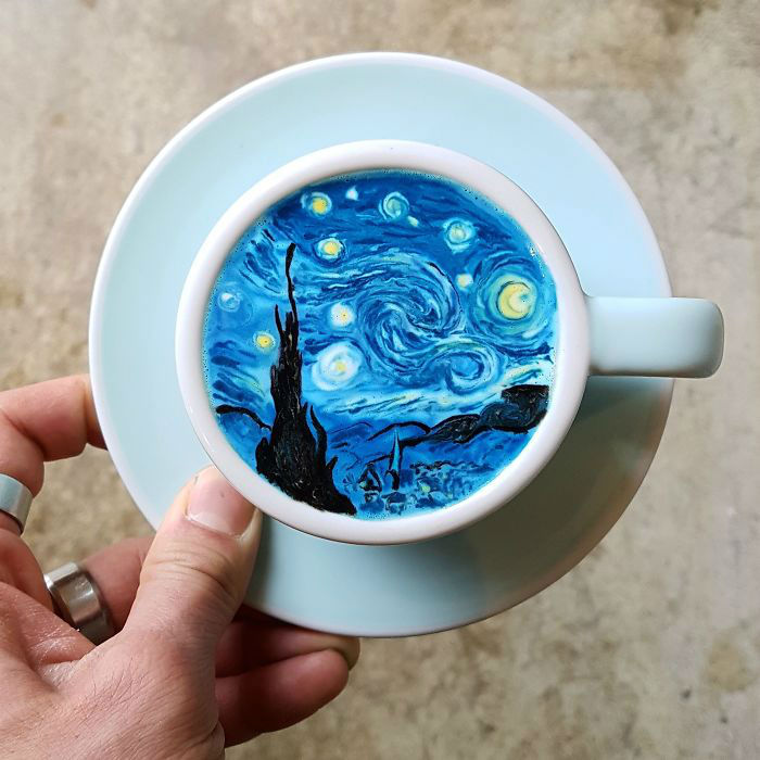 Creamart   Latte art by Amazing Barista from Korea