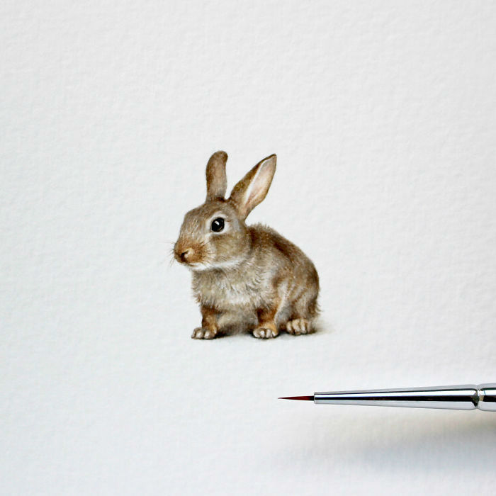 14 Awesome Miniature Paintings by Julia Las
