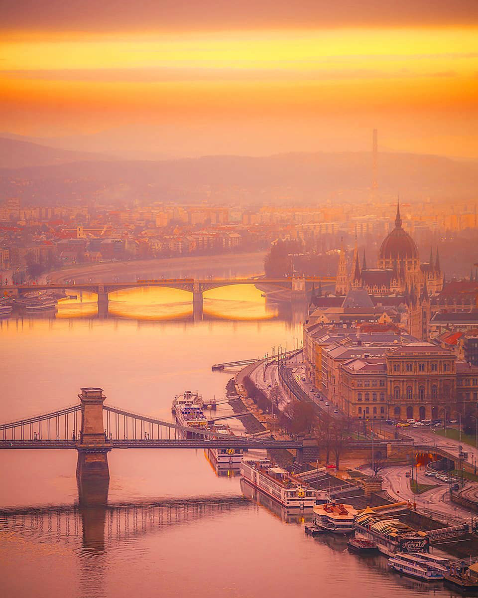 Dramatic Sunrise/Sunset Urban and Landscape Photography by Imre Krénn
