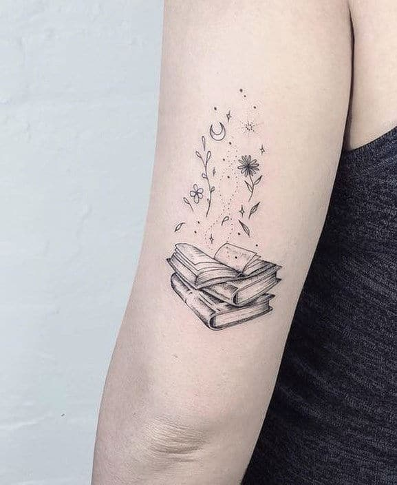 20+ Exceptional Book Tattoo Ideas