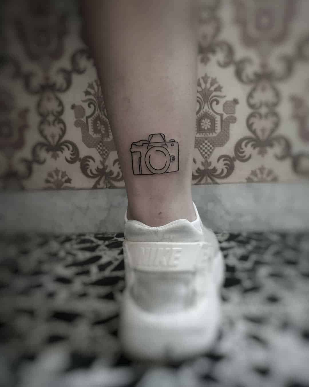 The Best 20+ Camera Tattoo Ideas