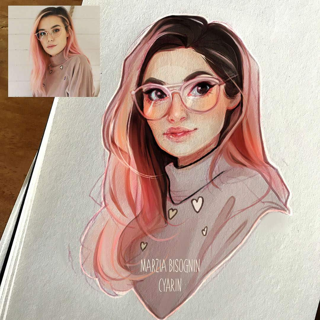 Artist Turns Herself into Adorable Cartoon Characters – by Cyarine