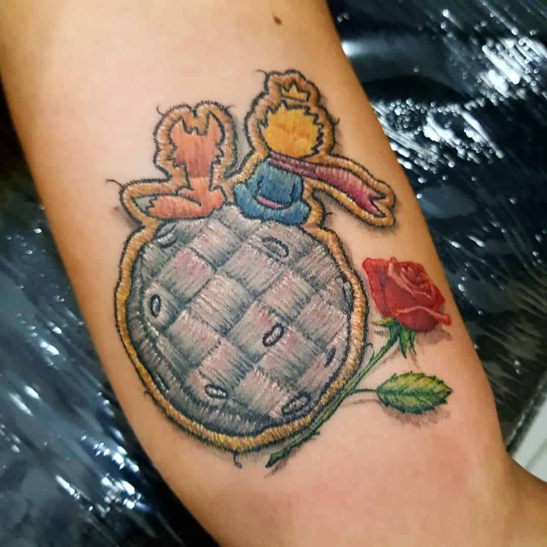 Insanely Realistic Embroidery Patch Tattoos – Pop Culture Themed by Duda Lozano