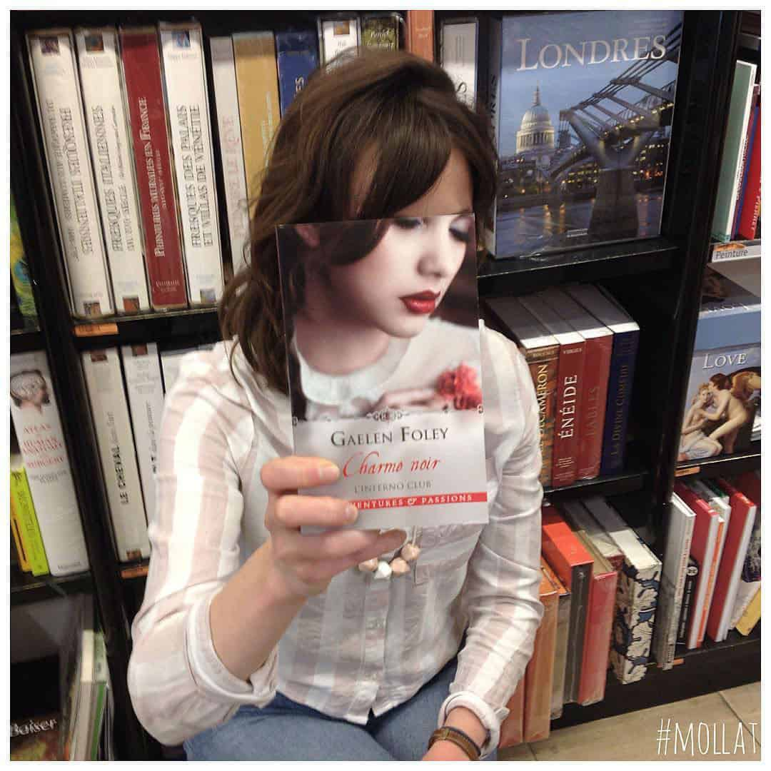 Instagram Famous Bookstore Photo Series with Customers and Employees