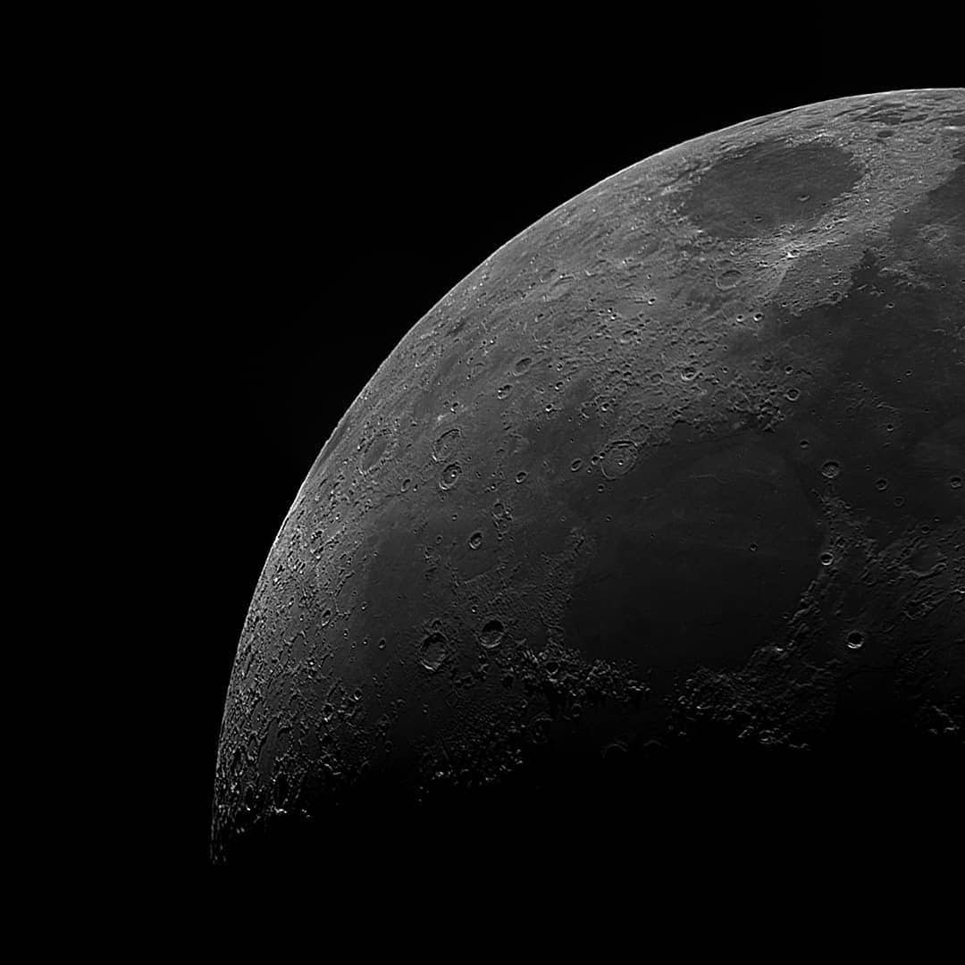 Lunar Images in Ultra HD Resolution by Andrew McCarthy
