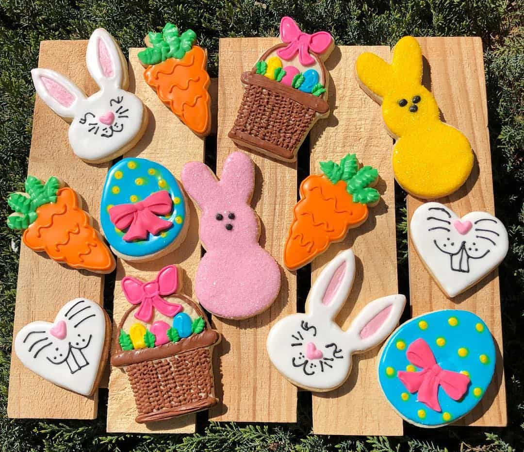 25 Festive Easter Cookie Decorating Ideas