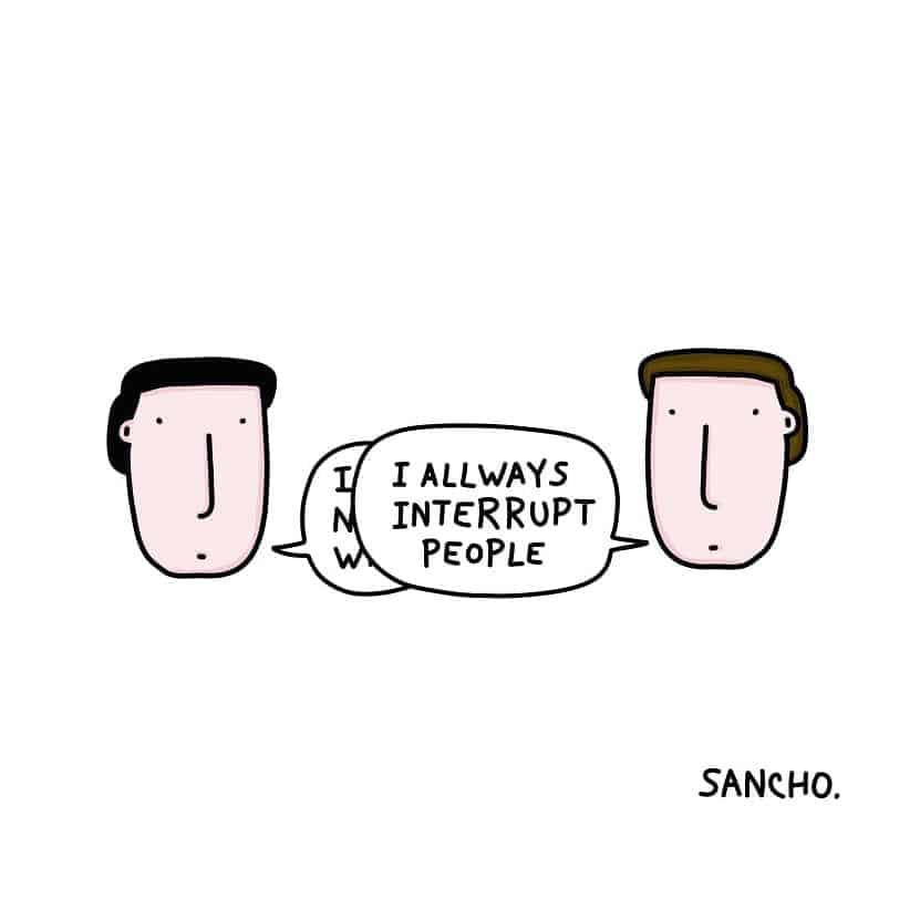 Simple Yet Funny Drawings by Gabriel Sancho