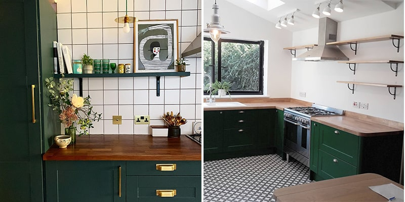 25 Lively Green Kitchen Design Ideas