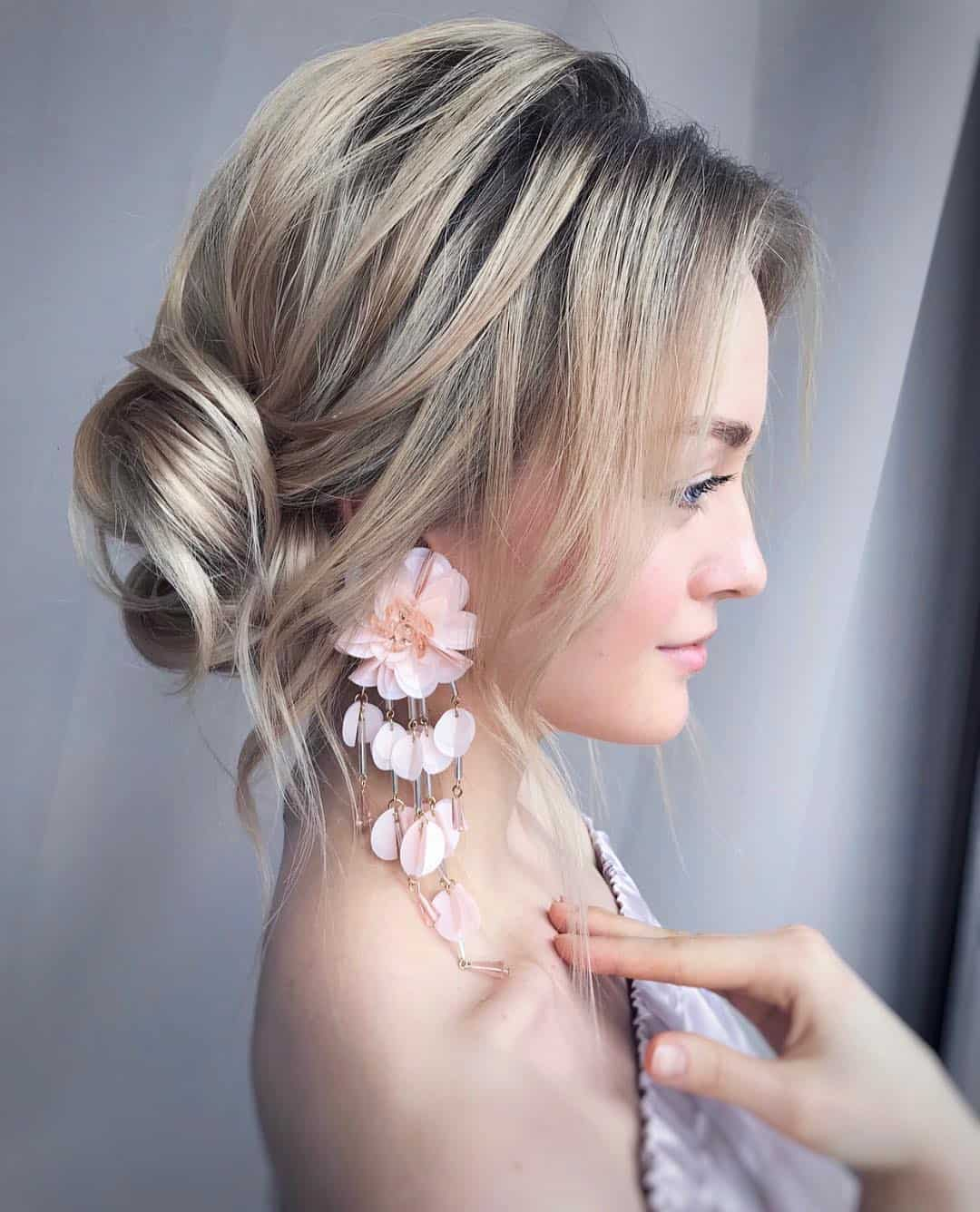 Elegant and Charming Bridal Updos by Vera Krsteva