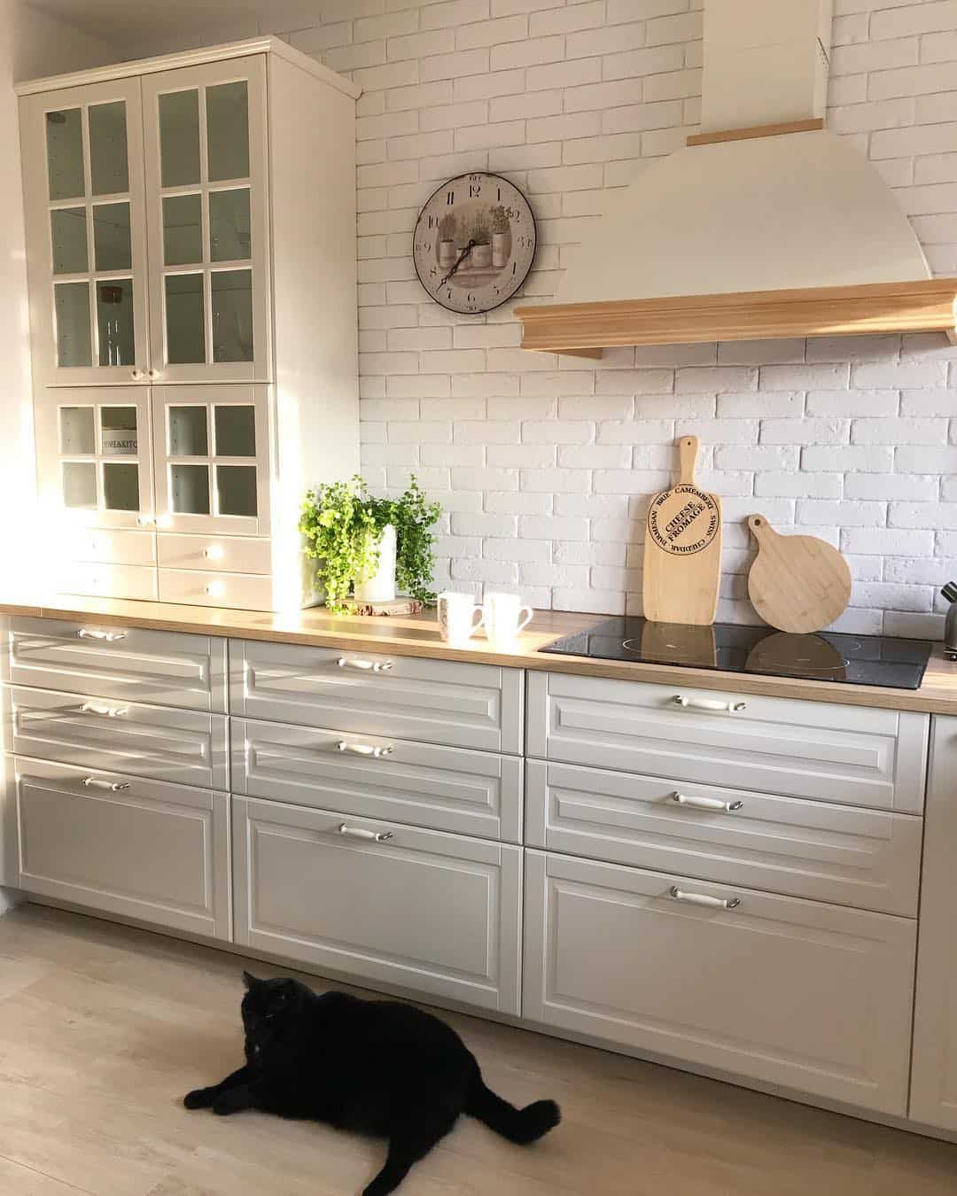 28 Small Kitchen Design Ideas: 28 Pure And Clean White Kitchen Design Ideas