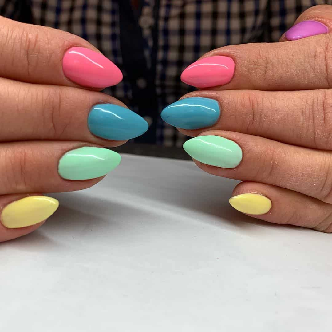 25 Prettiest Pastel Nail Examples To Welcome Spring