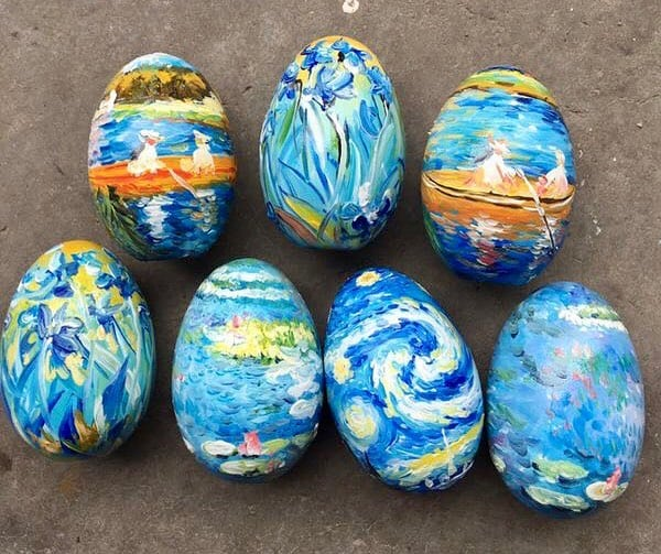 20 Crafty and Fun Egg Painting Ideas