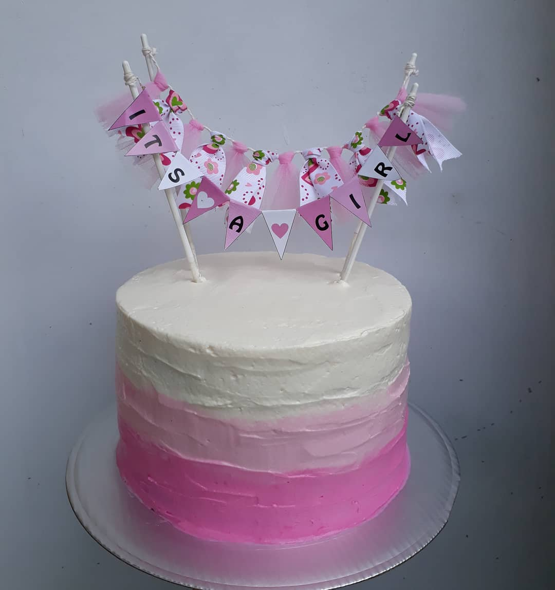 21 Pretty Baby Shower Cake Ideas For Girls