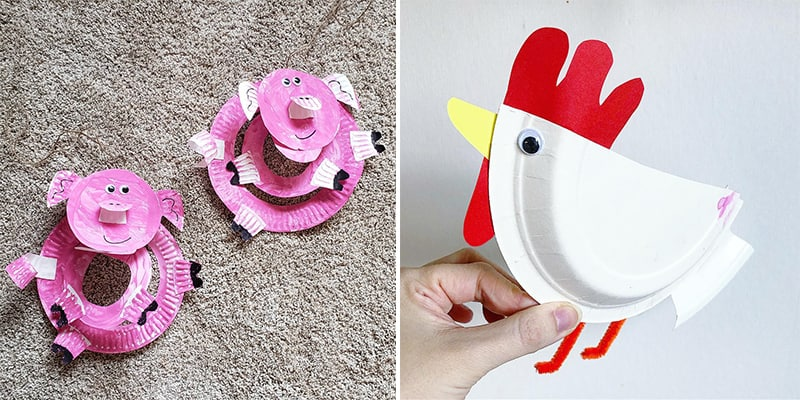 Craft Ideas For Kids With Paper Plates