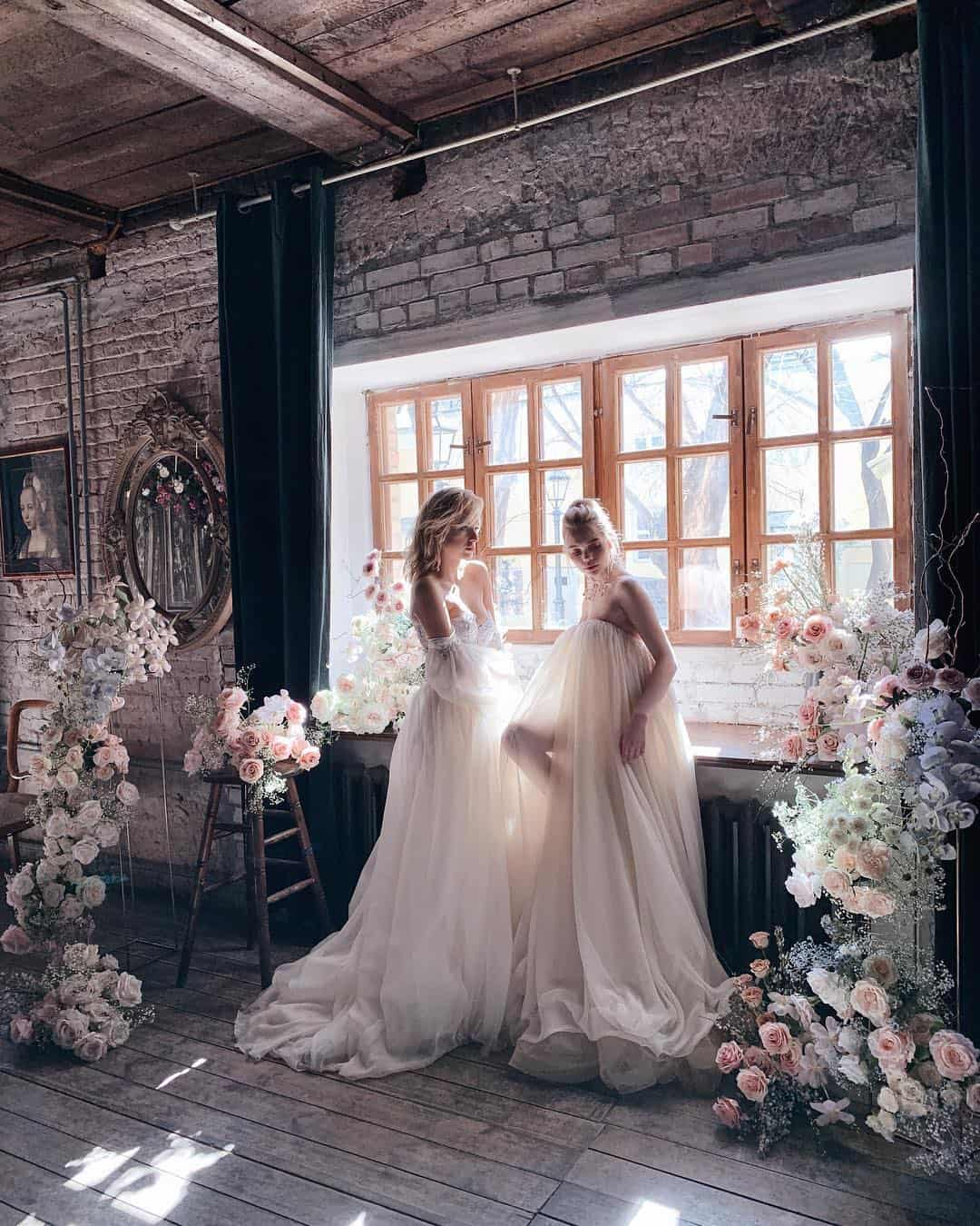 Unique and Delicate Bridal Dress Collection by Katerina Klimkina