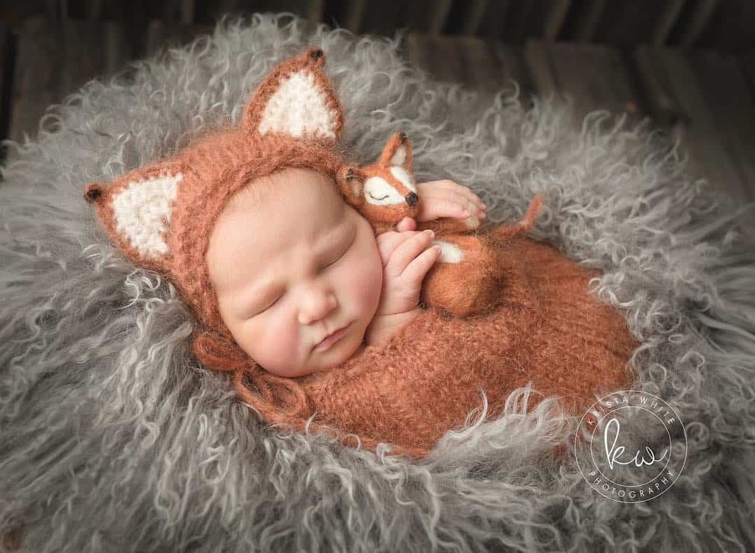Adorable Newborn Photography by Krista White