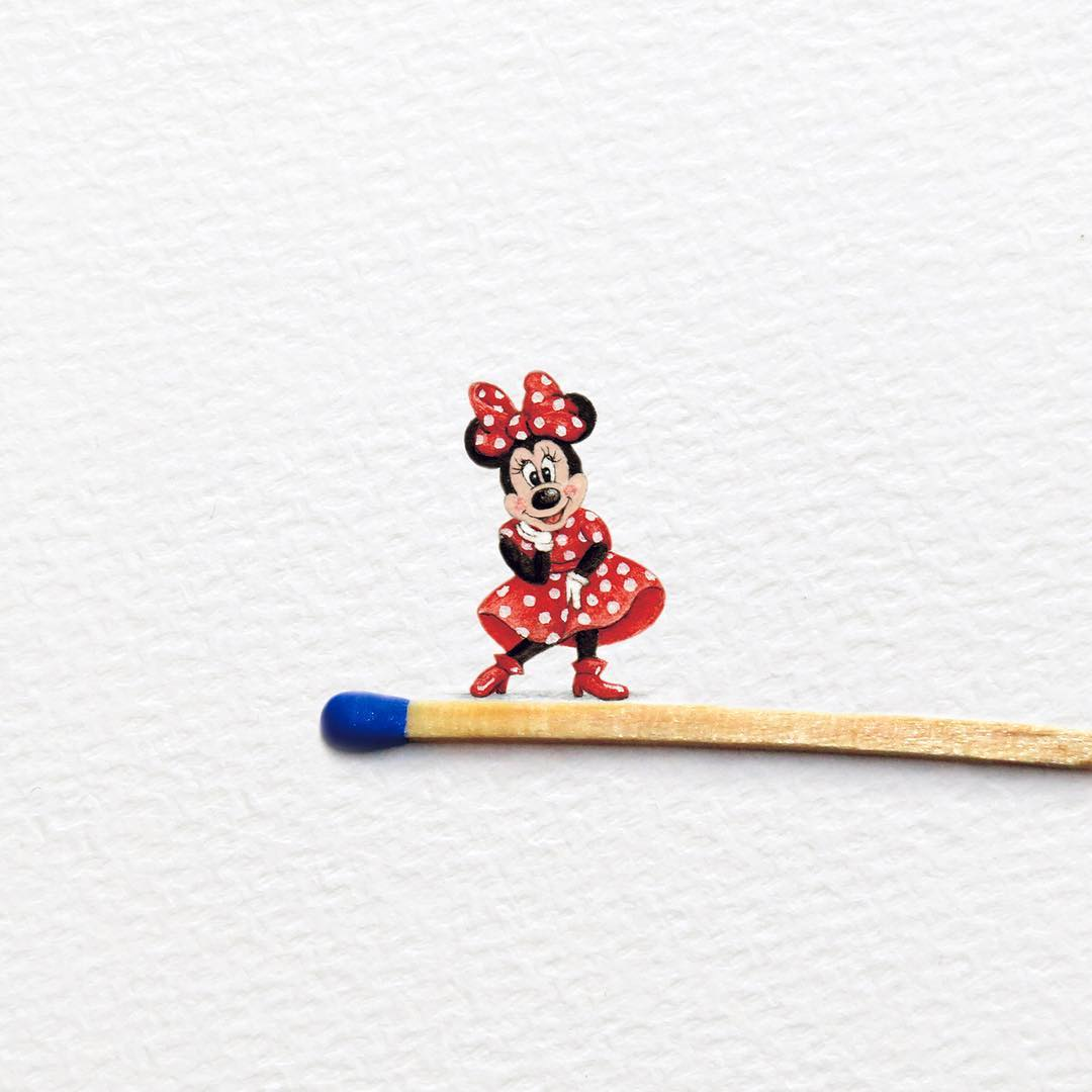 Adorable Miniature Paintings by Frank Holzenburg