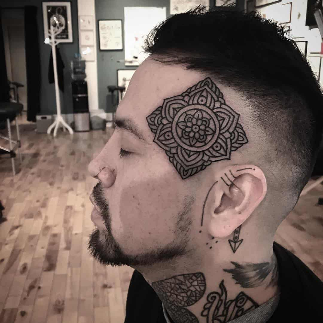 Ornamental and Bold Tribal Tattoo Designs by Adz Studio