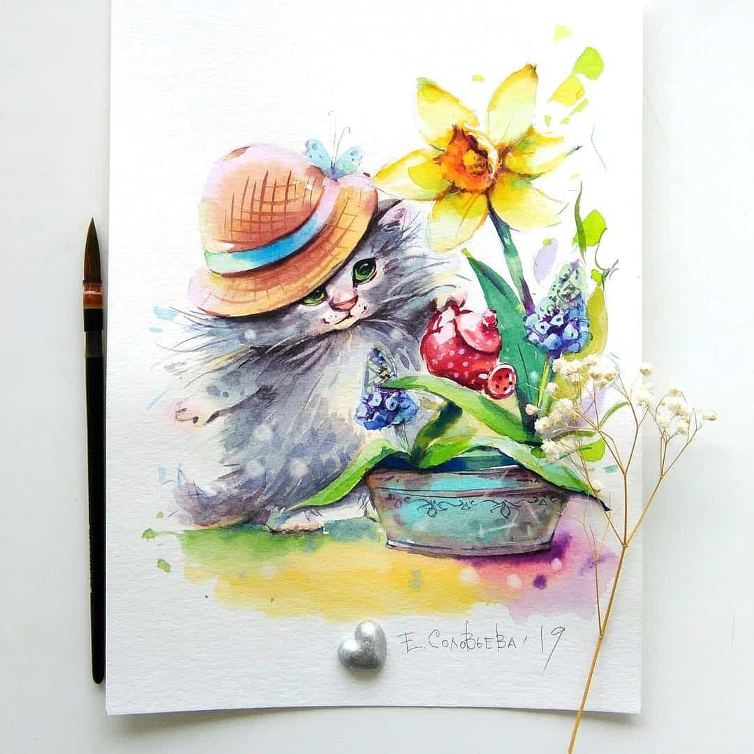 Artist Paints Incredibly Cute Illustrations for Children