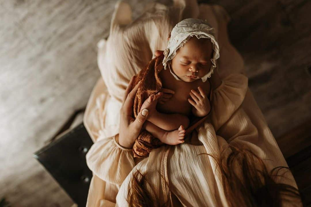 Dream like Newborn Photography by Lauren Hodges