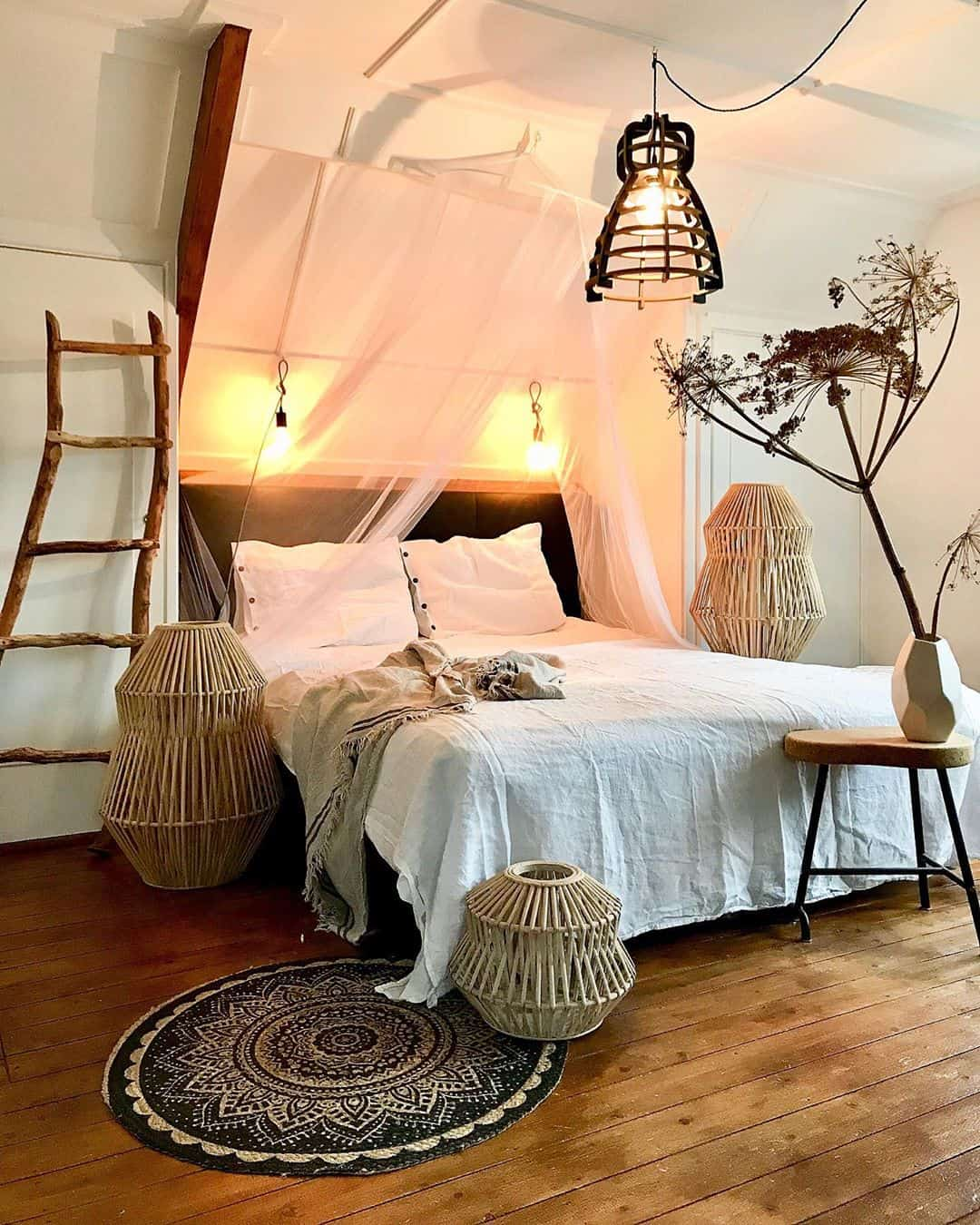 22 Dreamy Boho Bedroom Design Ideas