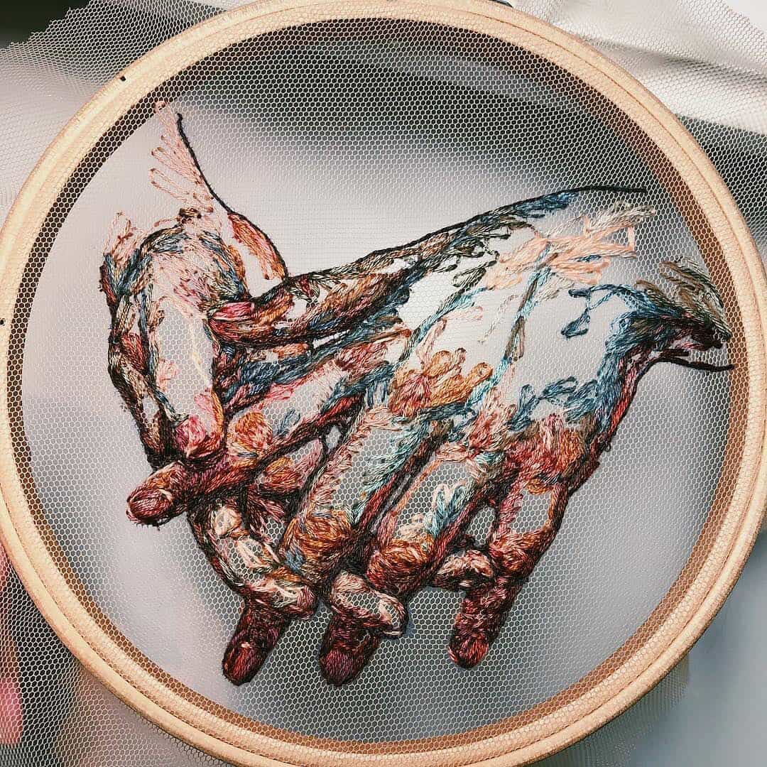 Artistic Embroidery by Katerina Marchenko