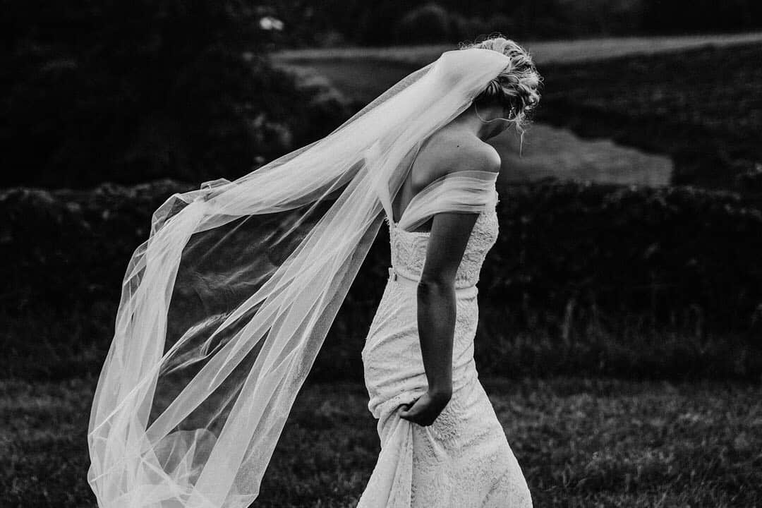 Brides Captured Brilliantly in Black and White by Keryn Sweeney