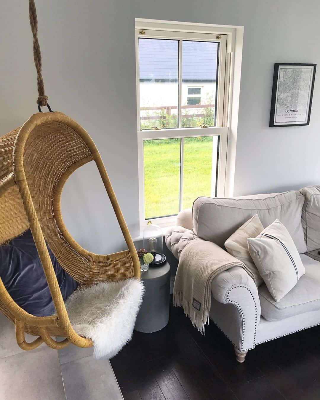 Add Some Fun to Your Home Decor with an Indoor Swing