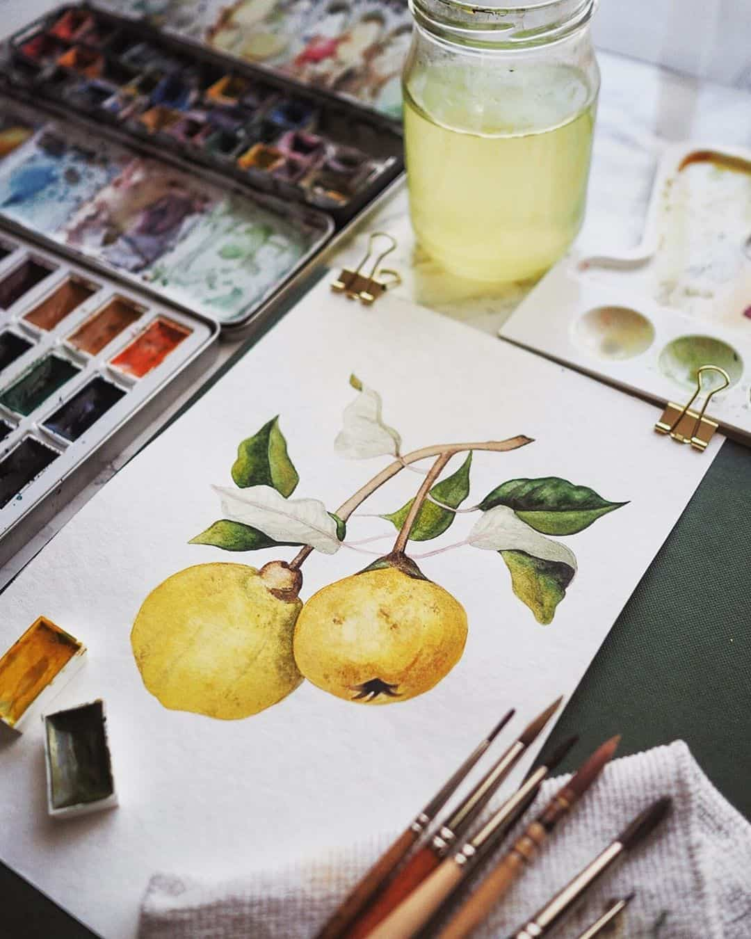 Lively Watercolor Paintings by Julia Davila Lampe