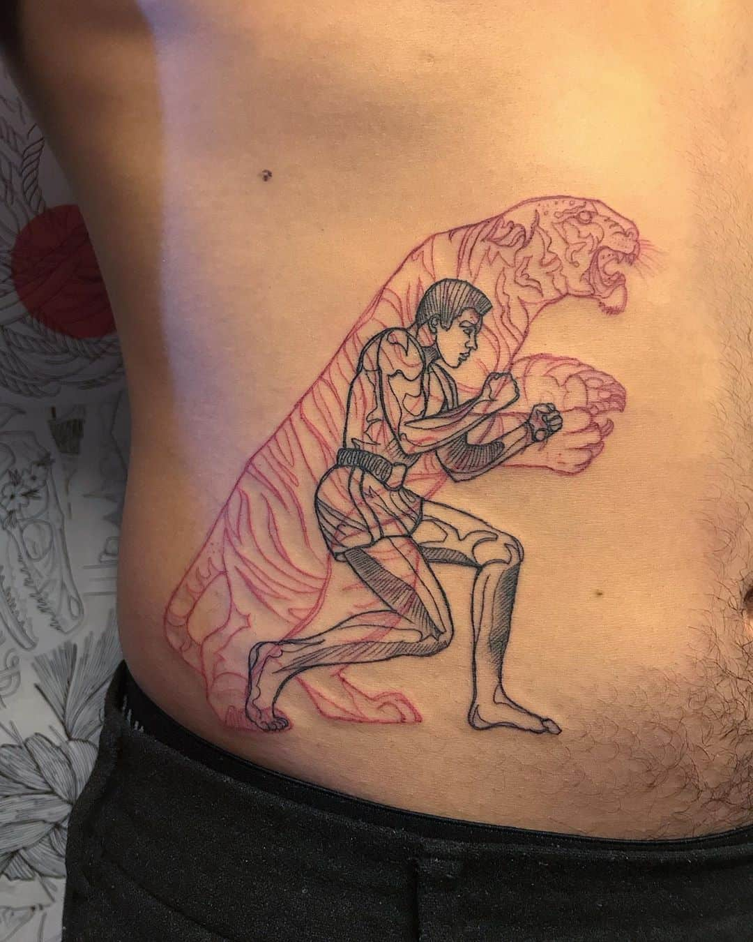 Latest Double Up Tattoo Designs of Pablo Puentes